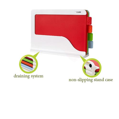 Thớt nhựa kháng khuẩn cao cấp Bio Multi Cuting Board C-70 có chứng nhận FDA ngăn chặn vi khuẩn, Hàn Quốc Bộ 3 chiếc
