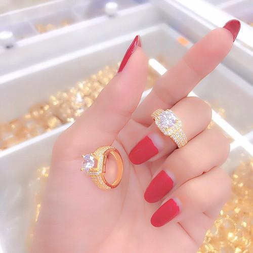 nhẫn nữ xoàn dát vàng 18k mã 3102 - 6820676 , 16823457 , 15_16823457 , 189000 , nhan-nu-xoan-dat-vang-18k-ma-3102-15_16823457 , sendo.vn , nhẫn nữ xoàn dát vàng 18k mã 3102