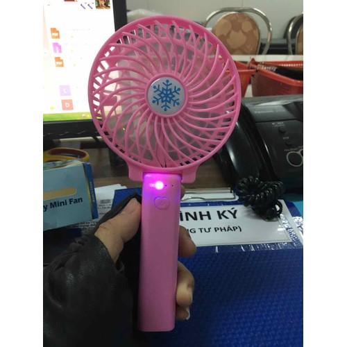 Quạt cầm tay mini có đèn chiếu sáng - pin sạc xài được lâu - 6807086 , 16812582 , 15_16812582 , 49000 , Quat-cam-tay-mini-co-den-chieu-sang-pin-sac-xai-duoc-lau-15_16812582 , sendo.vn , Quạt cầm tay mini có đèn chiếu sáng - pin sạc xài được lâu