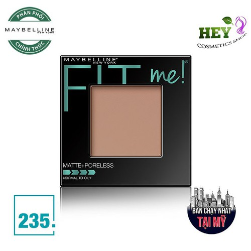 PHẤN PHỦ MỊN LÌ FIT ME MAYBELLINE 235 PURE BEIGE