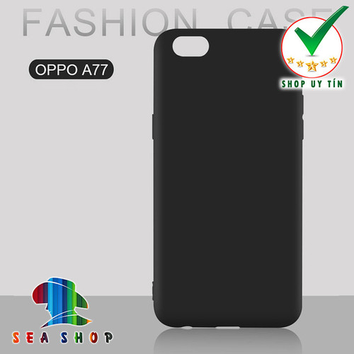 Ốp lưng Oppo F3 - A77 silicon đen