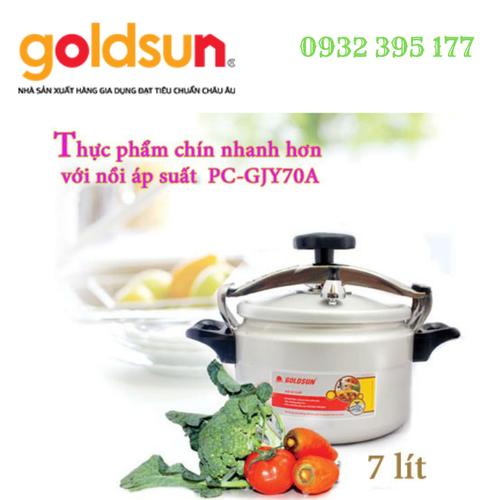 Nồi áp suất Goldsun 7 lít PC-GJY70A