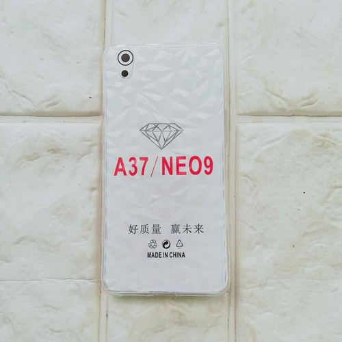 Ốp lưng Oppo A37-neo9 kim cường trong suốt