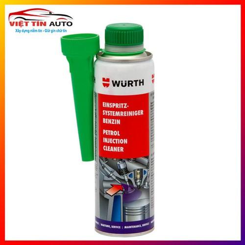Dung Môi Phụ Gia Vệ Sinh Động Cơ Xăng Wurth Petrol Injection System Cleaner 300ml