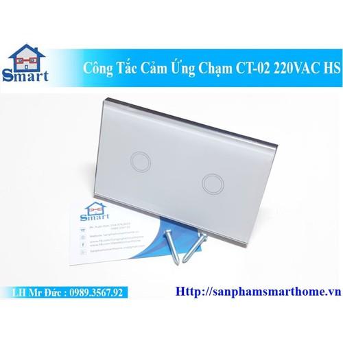 Công Tắc Cảm Ứng Chạm CT-02 220VAC HS