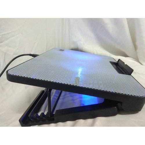 Đế quạt tản nhiệt 5 cấp nâng hạ, mặt tản nhiệt cứng có đèn Led Blue bền đẹp - 6789813 , 16799870 , 15_16799870 , 165000 , De-quat-tan-nhiet-5-cap-nang-ha-mat-tan-nhiet-cung-co-den-Led-Blue-ben-dep-15_16799870 , sendo.vn , Đế quạt tản nhiệt 5 cấp nâng hạ, mặt tản nhiệt cứng có đèn Led Blue bền đẹp