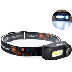 Đèn pin đội đầu mini HFL-01 lithium 18650 có sạc USB siêu tiện dụng