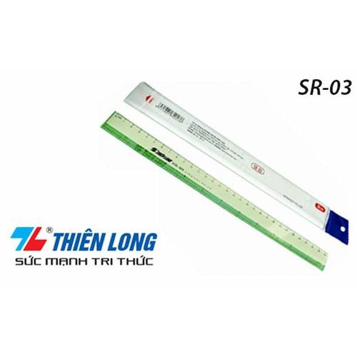 Combo 2 cây thước thẳng SR-03 30cm