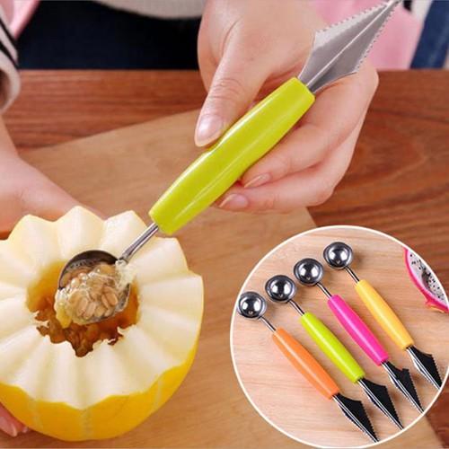 Combo 5 dụng cụ cắt tỉa rau củ quả 2 đầu thông minh tiện dụng