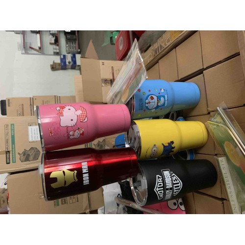 Ly và túi giữ nhiệt Thái Lan YETI bộ 2 ống hút Inox và cọ rửa