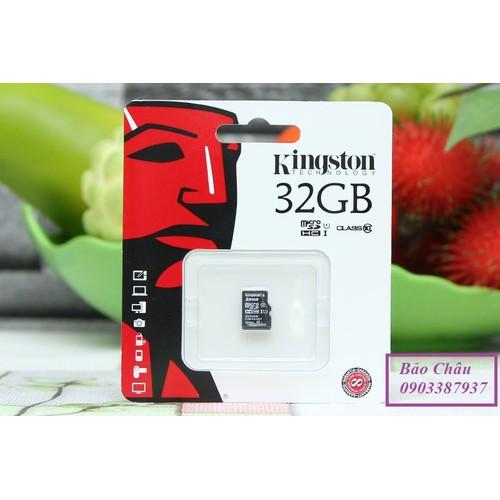 Thẻ nhớ Micro SD Kingston Class 10 32GB