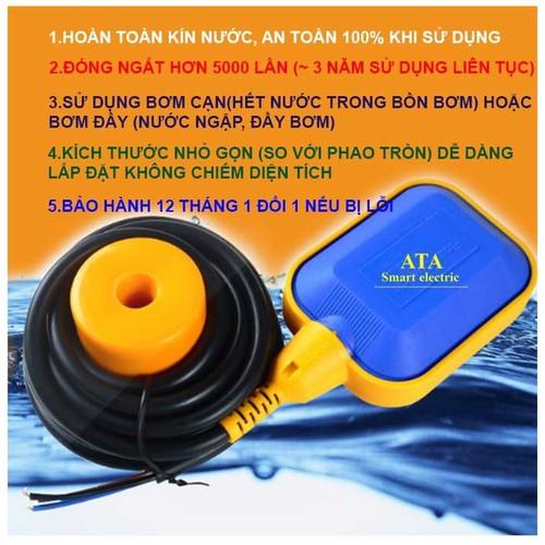 Phao điện máy bơm nước tự động ATA AT2M