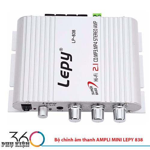 Bộ chỉnh âm thanh AMPLI MINI LEPY 838 - 4592501 , 16805854 , 15_16805854 , 399000 , Bo-chinh-am-thanh-AMPLI-MINI-LEPY-838-15_16805854 , sendo.vn , Bộ chỉnh âm thanh AMPLI MINI LEPY 838