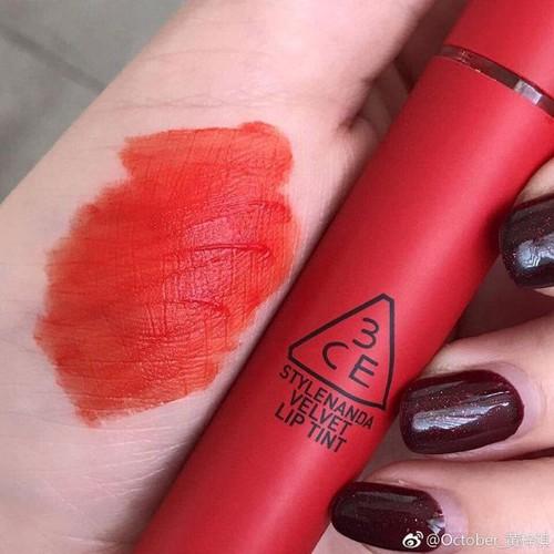Son 3CE Velvet Lip Tint - Childlike đỏ cam - 4712032 , 16407302 , 15_16407302 , 240000 , Son-3CE-Velvet-Lip-Tint-Childlike-do-cam-15_16407302 , sendo.vn , Son 3CE Velvet Lip Tint - Childlike đỏ cam