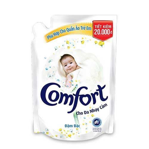 Nước xả vải Comfort cho da nhạy cảm 2.6L gói