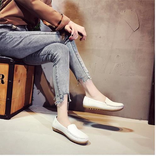 Giày mọi nữ trắng [Siêu giảm giá]