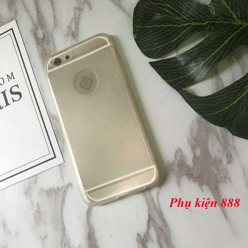 Ốp lưng iphone 6, 6S trong suốt Totu