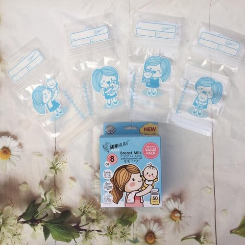 Túi trữ sữa Sunmum - Hộp 50 túi