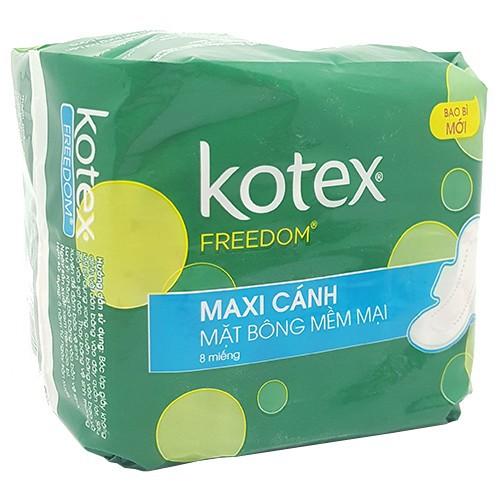 Băng vệ sinh Kotex Freedom Maxi cánh gói 8 miếng - 6295680 , 16409210 , 15_16409210 , 10000 , Bang-ve-sinh-Kotex-Freedom-Maxi-canh-goi-8-mieng-15_16409210 , sendo.vn , Băng vệ sinh Kotex Freedom Maxi cánh gói 8 miếng