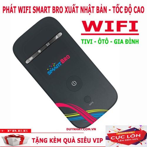 Cục Phát Sóng Wifi Smart Bro- Khuyến Mại Sim