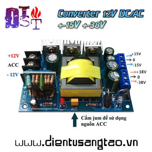 Mạch chuyển đổi nguồn 12V DC AC sang nguồn đối xứng  +-15V +-38V - 11323400 , 16392228 , 15_16392228 , 252000 , Mach-chuyen-doi-nguon-12V-DC-AC-sang-nguon-doi-xung-15V-38V-15_16392228 , sendo.vn , Mạch chuyển đổi nguồn 12V DC AC sang nguồn đối xứng  +-15V +-38V