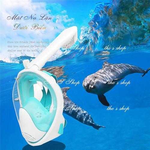 Mặt nạ lặn biển Full face, Mặt nạ bơi, mặt nạ lặn biển có ống thở - 4711580 , 16402639 , 15_16402639 , 600000 , Mat-na-lan-bien-Full-face-Mat-na-boi-mat-na-lan-bien-co-ong-tho-15_16402639 , sendo.vn , Mặt nạ lặn biển Full face, Mặt nạ bơi, mặt nạ lặn biển có ống thở