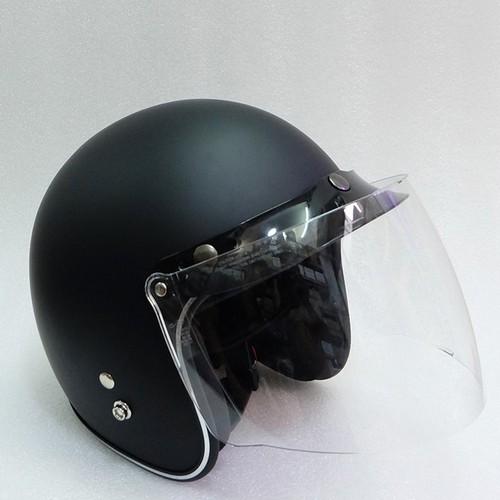 Nón 3phần4 đầu chính hảng|Nón bảo hiểm xe máy+Tặng kèm kính fullface che mật
