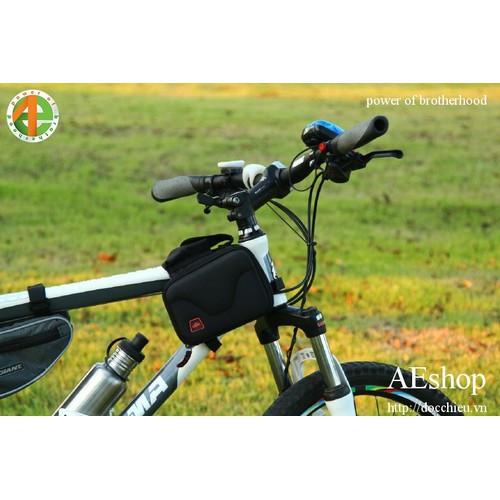 túi treo khung trước xe đạp form cứng CBR
