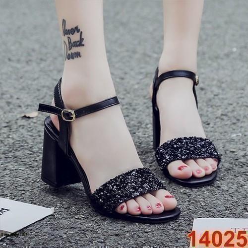 Sandal quai kim sa 14025