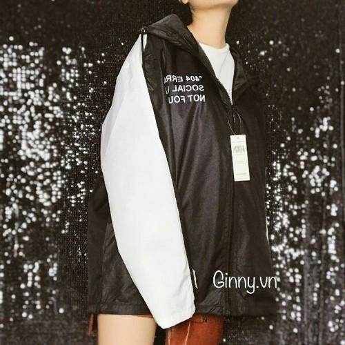 Áo khoác dù nữ dễ thương