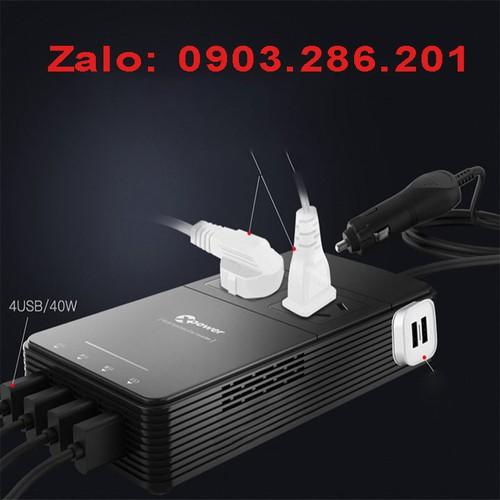 bộ chuyển đổi nguồn điện trên ô tô 12v - 220v - 6277235 , 16391493 , 15_16391493 , 1900000 , bo-chuyen-doi-nguon-dien-tren-o-to-12v-220v-15_16391493 , sendo.vn , bộ chuyển đổi nguồn điện trên ô tô 12v - 220v