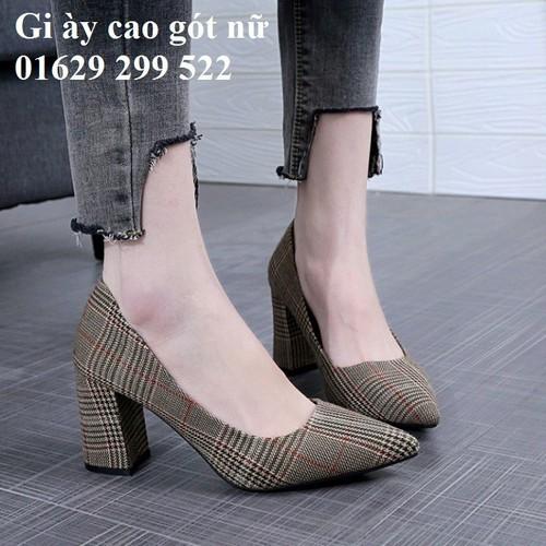 Giày cao gót nữ 5cm - 11566775 , 17603138 , 15_17603138 , 498000 , Giay-cao-got-nu-5cm-15_17603138 , sendo.vn , Giày cao gót nữ 5cm