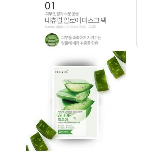 MẶT NẠ Eunyul Natural Moisture Mask Pack - 4597506 , 16836311 , 15_16836311 , 20000 , MAT-NA-Eunyul-Natural-Moisture-Mask-Pack-15_16836311 , sendo.vn , MẶT NẠ Eunyul Natural Moisture Mask Pack
