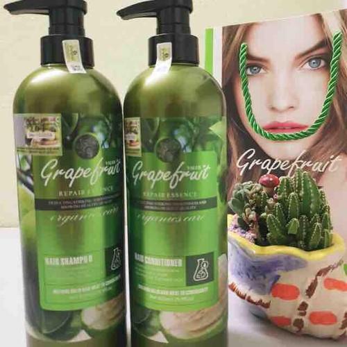 Bộ dầu gội xả kích thích mọc tóc Bưởi Grape Fruit Repair Hair Anh 850ml