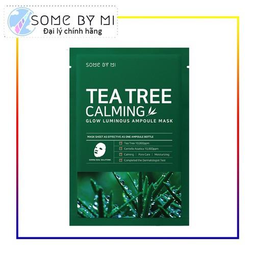 Mặt Nạ Chiết Xuất Tràm Trà Làm Dịu Da, Giảm Mụn Some By Mi Tea Tree Calming Sheet Mask