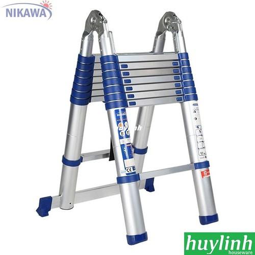 Thang nhôm rút đôi Nikawa NK-50AI NEW - 5m - 6824393 , 16826782 , 15_16826782 , 4300000 , Thang-nhom-rut-doi-Nikawa-NK-50AI-NEW-5m-15_16826782 , sendo.vn , Thang nhôm rút đôi Nikawa NK-50AI NEW - 5m