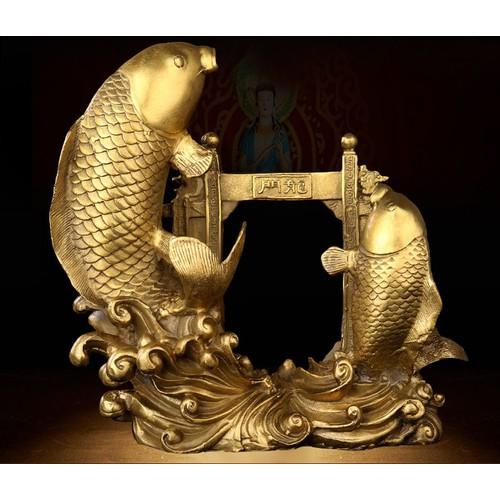 Tượng linh vật phong thủy cá chép vượt vũ môn hóa rồng bằng đồng thau cỡ đại - 6827345 , 16828784 , 15_16828784 , 1199000 , Tuong-linh-vat-phong-thuy-ca-chep-vuot-vu-mon-hoa-rong-bang-dong-thau-co-dai-15_16828784 , sendo.vn , Tượng linh vật phong thủy cá chép vượt vũ môn hóa rồng bằng đồng thau cỡ đại