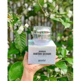 Kem Ốc Sên Goodal Premium Snail Tone Up Cream  - kov