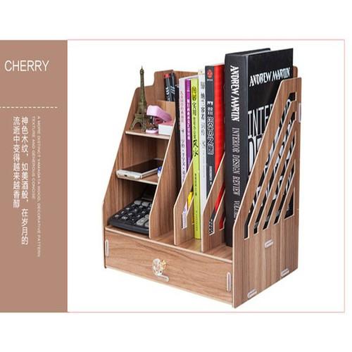 Kệ sách để bàn làm việc mini bằng gỗ - 6834633 , 16833570 , 15_16833570 , 400000 , Ke-sach-de-ban-lam-viec-mini-bang-go-15_16833570 , sendo.vn , Kệ sách để bàn làm việc mini bằng gỗ