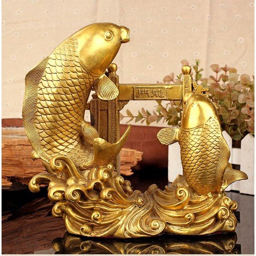 Tượng cá chép vượt vũ môn hóa rồng bằng đồng thau cỡ trung phong thủy học vấn - 6827067 , 16828662 , 15_16828662 , 399000 , Tuong-ca-chep-vuot-vu-mon-hoa-rong-bang-dong-thau-co-trung-phong-thuy-hoc-van-15_16828662 , sendo.vn , Tượng cá chép vượt vũ môn hóa rồng bằng đồng thau cỡ trung phong thủy học vấn