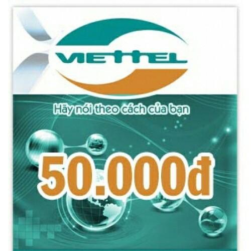 Thẻ nạp Viettel 50k - không bán riêng đơn thẻ điện thoại - 6837440 , 16835748 , 15_16835748 , 50000 , The-nap-Viettel-50k-khong-ban-rieng-don-the-dien-thoai-15_16835748 , sendo.vn , Thẻ nạp Viettel 50k - không bán riêng đơn thẻ điện thoại
