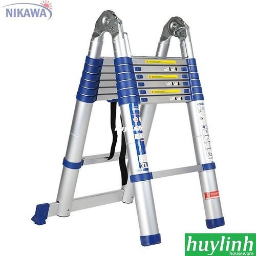 Thang nhôm rút đôi Nikawa NK-44AI NEW - 4.4m - 6824038 , 16826510 , 15_16826510 , 3900000 , Thang-nhom-rut-doi-Nikawa-NK-44AI-NEW-4.4m-15_16826510 , sendo.vn , Thang nhôm rút đôi Nikawa NK-44AI NEW - 4.4m