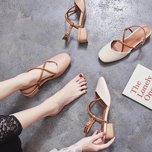 Giày sục sandal nữ đế bệt - 6833262 , 16832377 , 15_16832377 , 180000 , Giay-suc-sandal-nu-de-bet-15_16832377 , sendo.vn , Giày sục sandal nữ đế bệt