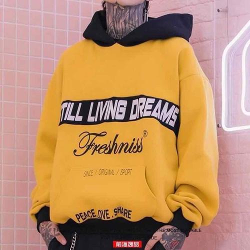 Áo hoodie Mc Carley vàng