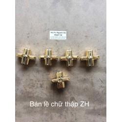 10 chiếc bản lề chữ thập ZH bắt âm - ngành gỗ