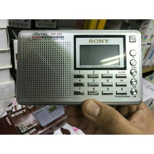 Đài Radio nghe nhạc FM sony sw325