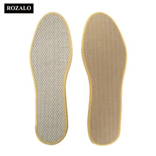 Miếng lót giày hút ẩm khử mùi rozalo r2111 1 đôi