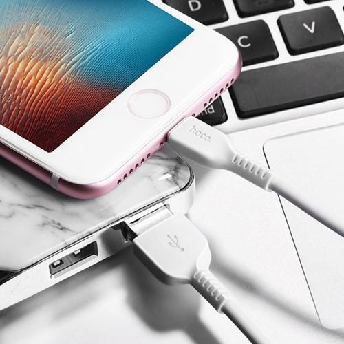Cáp Sạc Điện Thoại Di Động Lightning Đầu Nối TPE Hoco X20 Iphone - 2M - 6841921 , 16839207 , 15_16839207 , 150000 , Cap-Sac-Dien-Thoai-Di-Dong-Lightning-Dau-Noi-TPE-Hoco-X20-Iphone-2M-15_16839207 , sendo.vn , Cáp Sạc Điện Thoại Di Động Lightning Đầu Nối TPE Hoco X20 Iphone - 2M