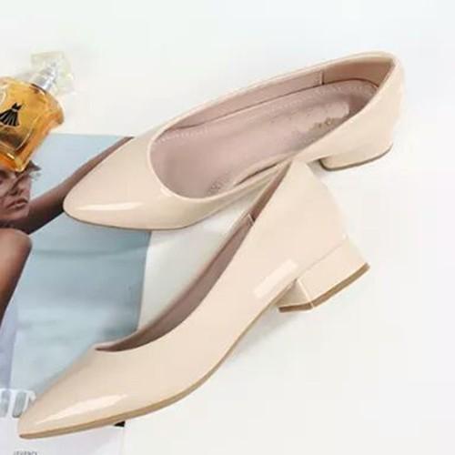 giày búp bê đế vuông 1 cm size nhỏ size lớn 33 34 40 41 42 43