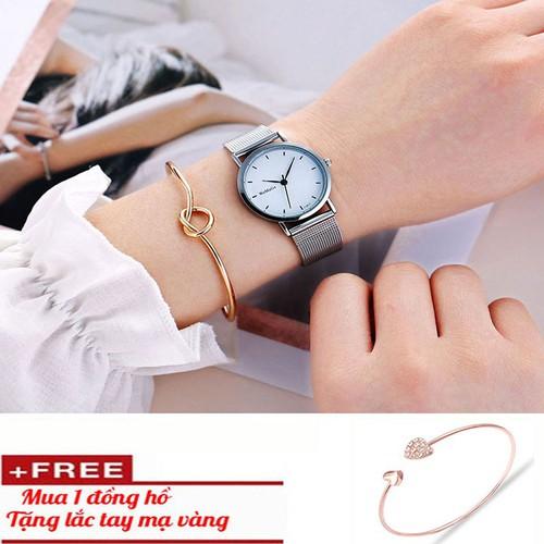 Đồng hồ nữ cao cấp tặng vòng tay